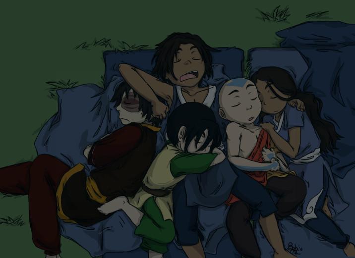 Аватар: Легенда об Аанге - книга третья: Огонь / Avatar: The Last Airbender категория ~ аниме 2008 года