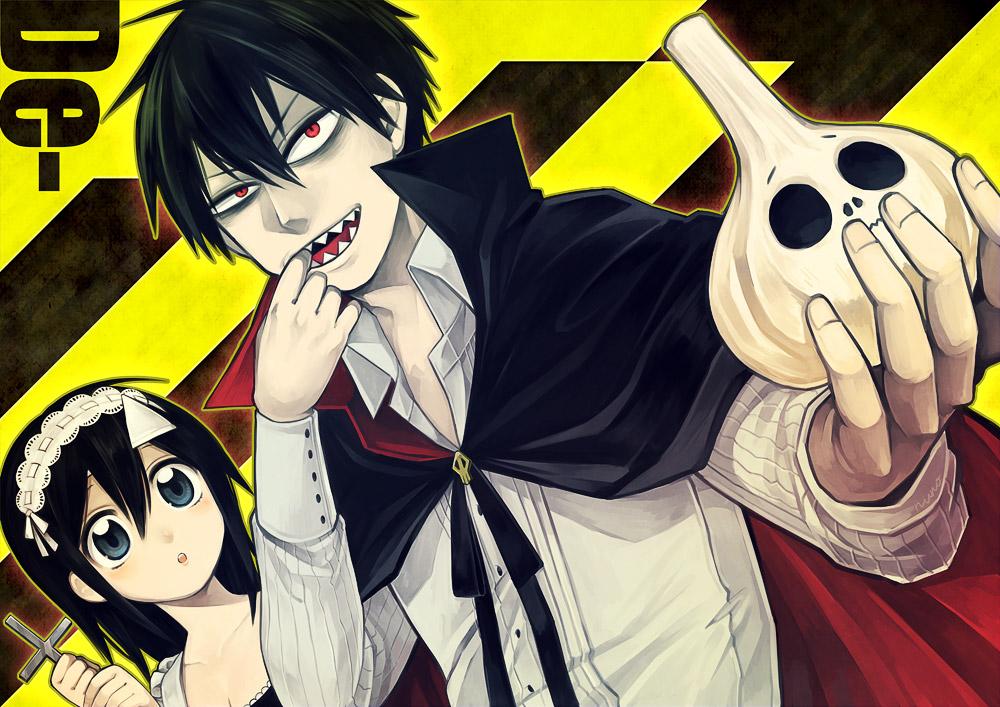 Кровавый парень / Blood Lad / парень в крови категория ~ аниме 2013 года