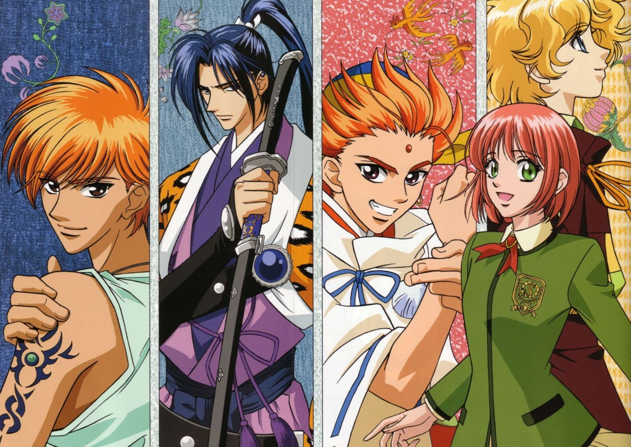 В далекие времена [ТВ] / Harukanaru Toki no Naka de категория ~ аниме 2002 года
