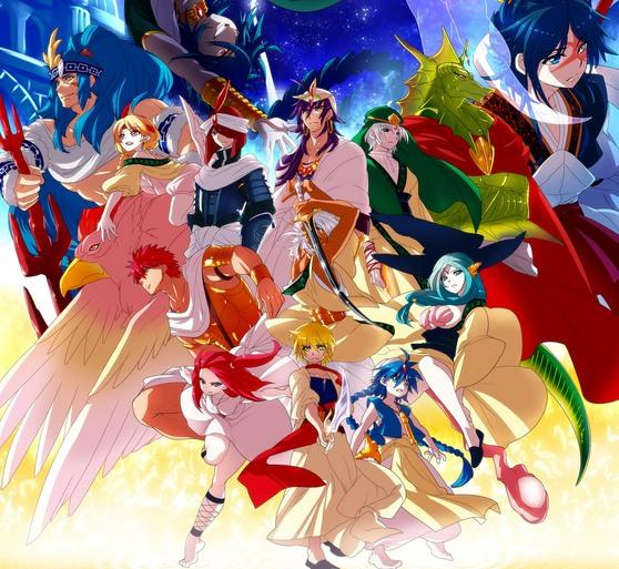 Маги: Лабиринт Волшебства (второй сезон) / Magi 2 / Magi: The Kingdom of Magic / Magi: The Labyrinth of Magic 2 категория ~ аниме 2013 года